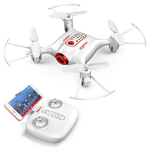 Syma X21W Mini RC Drone with Camera Live Video, 2.4GHz 6-Axis Gyro FPV...