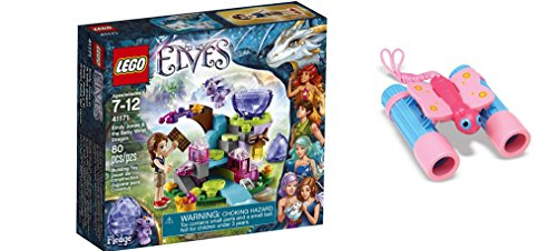 [LEGO Elves Emily Jones & the Baby Wind Dragon 80 Pcs & free Gifts Sunny Patch Bixie Butterfly Binoculars (Colors may vary)] (Baby State Trooper Costume)