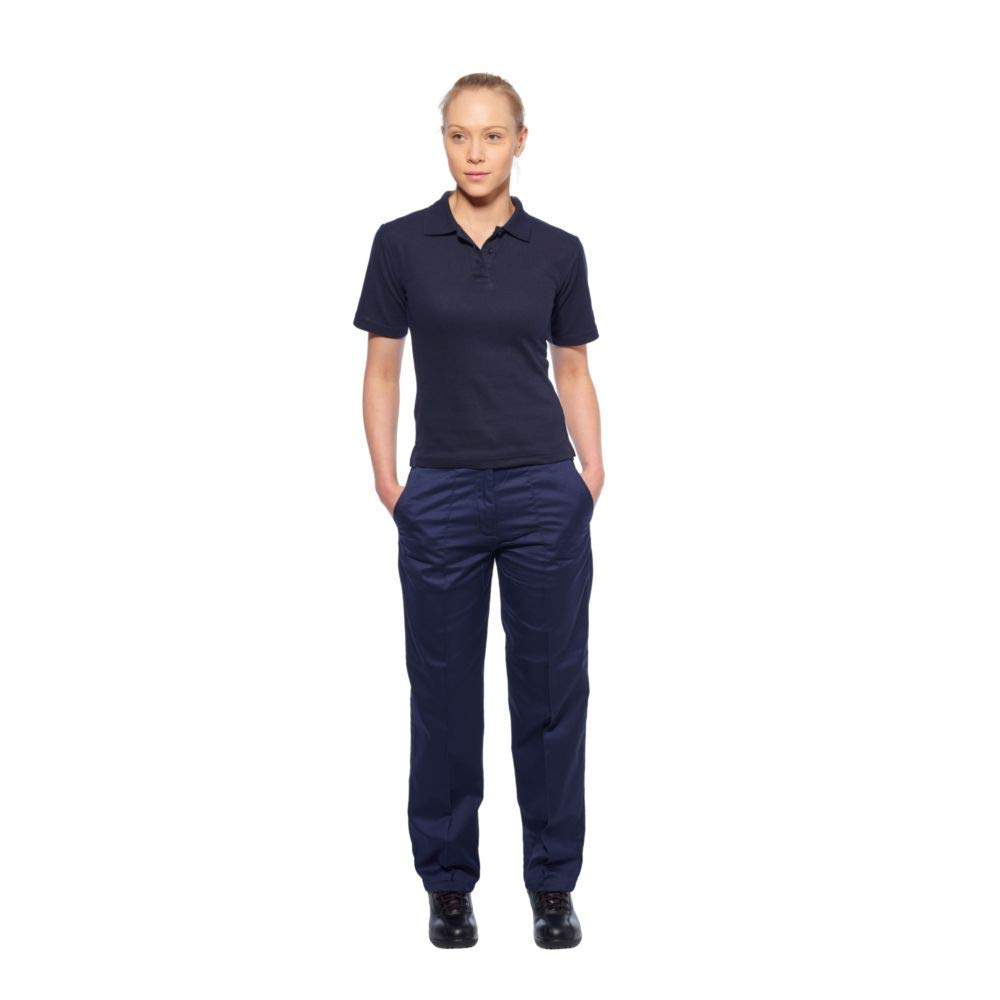 Portwest B209RBRXS - Ladies polo shirt color: royal talla: xsmall ...