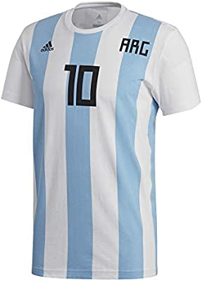 promo code 180fe 1a40f adidas Messi For World Cup Football Jersey for Men, Blue ...