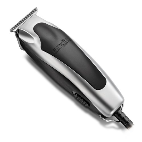 Andis Superline Professional Personal Electric Trimmer with T-Blade for Precision Cutting, Features Detachable Blades and Ergonomic Grip, Perfect for Outlining, Detailing, Shaving and Shaping with Extremely Powerful Yet Quiet Rotary Motor by Andis