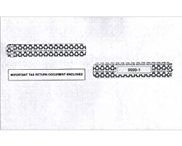 EGP IRS Approved Tax Envelope 4 up style W-2 (4 packs - 100 envelopes)