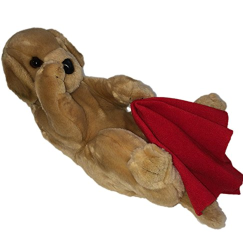 Red Poodle Plush (Douglas Yellow Labrador with Red Blanket)