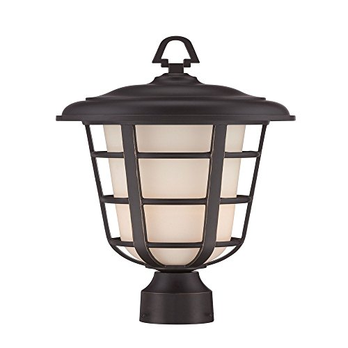 Designers Fountain 33246-ABP Triton 10'' Post Lantern by Designers Fountain