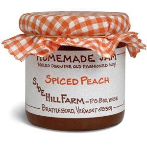 Side Hill Jams - Peach Jam 9 Ounce (Side Farm)