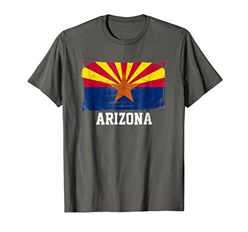 Arizona United States Vintage Distressed Flag T Shirt (Shirt Arizona Diamondbacks Classic)
