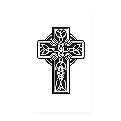 Rectangle Car Magnet Celtic Cross ()