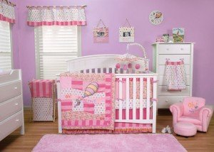 - Dr. Seuss Oh, The Places You'll Go Baby Pink Bedding Collection by Trend Lab 3 Piece Crib Set