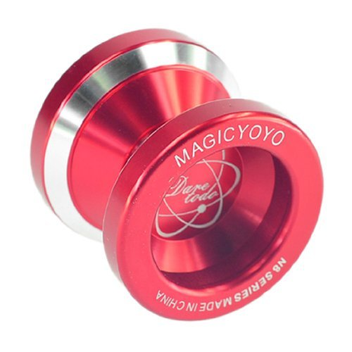 New Red Fashion Magic YoYo N8 Dare To Do Alloy Aluminum Professional Yo-Yo Toy by ATCG