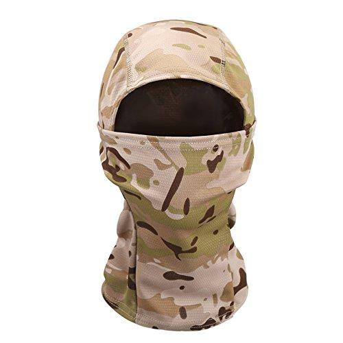 OneTigris Tactical Hood Headwear Balaclavas Full Face Mask (Digital Desert)
