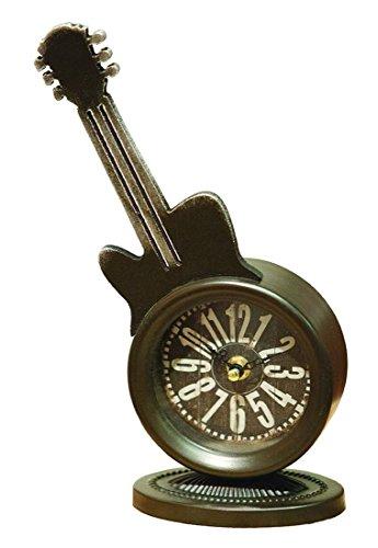 ArtFuzz Guitar Table Clock (Headstock Assembly)