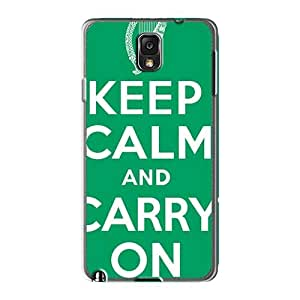 Protector Hard Cell-phone Cases For Samsung Galaxy Note3 With Support Your Personal Customized Stylish Green Day Series ChristopherWalsh