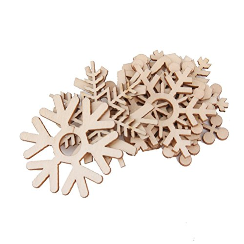 Assorted Snowflake Embellishment Ornament Christmas