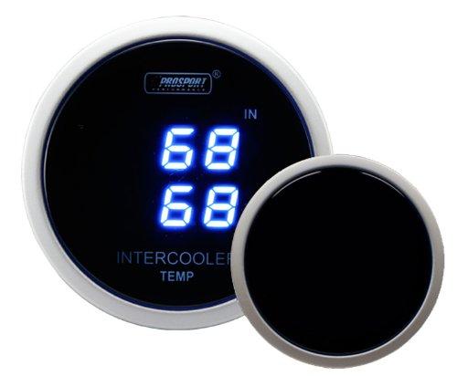 - proSPORT Intercooler Air Temperature Gauge dual Digital Display In/out