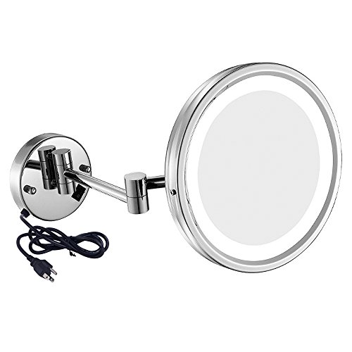 Amazon Com Gurun Led Lighted Wall Mount Mirror 8 5 Inch