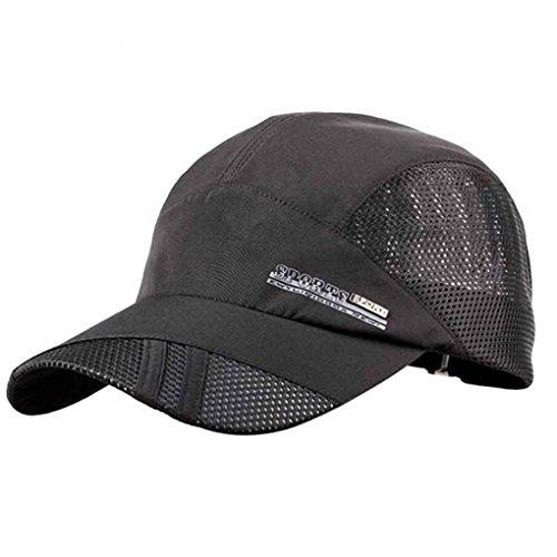 del Hombres para los del de Secado Deporte Respirable Rápido Uzinb Sombreros Béisbol del Acoplamiento Gorra Verano q8AZ6xOTw