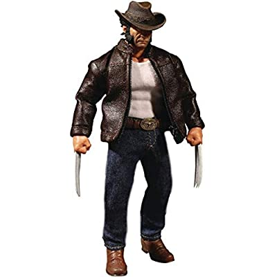 Mezco Toys One: 12 Collective: Marvel Logan Action Figure: Toys & Games