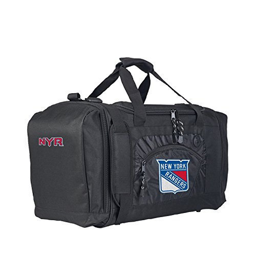 The Northwest Company Officially Licensed NHL New York Rangers Roadblock Duffel by The Northwest Company (Image #1)