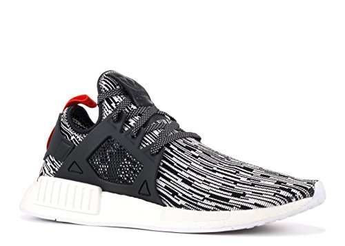 adidas Originals NMD XR1 PK, FTWR White-Core Black-Semi Solar Red Grey