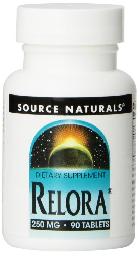 Source Naturals Relora 250mg, May Help to Relieve Stress and Minimize Stress-Induced Eating, 90 Tablets