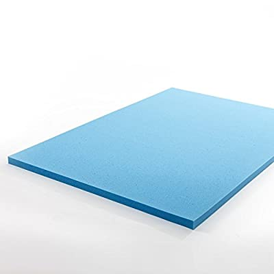 Zinus 1.5 inch Gel Memory Foam Mattress Topper