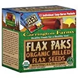 Carrington Farms Milled Flax Seeds (6 x 12 x .42 OZ)