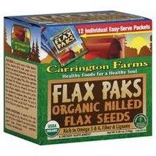 Carrington Farms Milled Flax Seeds (6 x 12 x .42 OZ)
