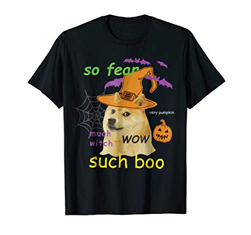 Halloween Doge Shirt Meme Costume]()
