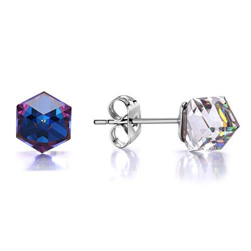 Swiss CZ Crystal Diamond Wedding Ring - 2
