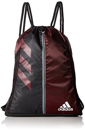 adidas Team Issue Sackpack, One Size, Light Maroon/Black