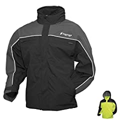 Constructed from three-layer submersible waterproof/breathable material for full-speed waterproof protection. 100% waterproof taped seams and internal, adjustable neoprene cuffs. A fully covered front zipper with a storm flap and rain gutter,...