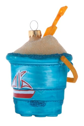 Blue Bucket of Sand Ornament