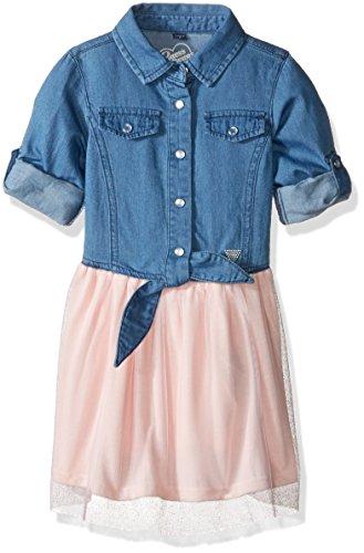 Pink Denim Dress - 9