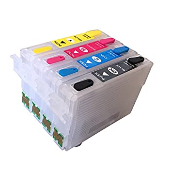 Cartucho de Tinta Recargable para Impresora EPSON T26 T27 ...