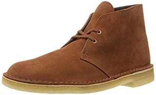 Clarks Men's Desert Chukka Boot, Dark Tan Suede, 12 M US (B01AAV73Q2) | Amazon price tracker / tracking, Amazon price history charts, Amazon price watches, Amazon price drop alerts