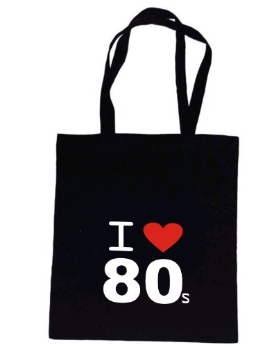 Love Tote from Rhino 80's Bag Mugsy Black I and THSdpqT