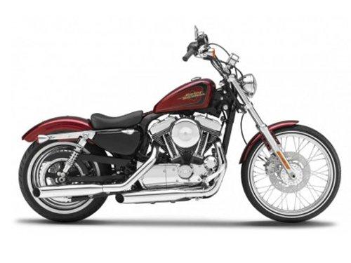 2012 Harley Davidson XL 1200V Seventy Two Motorcycle Model 1/12 by Maisto 32324