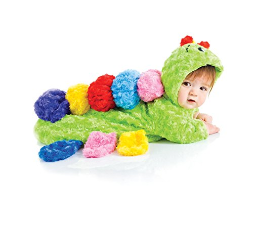 [Underwraps Baby's Colorful Caterpillar Bunting, Lime/Multi, Infant] (Group Of 3 Girl Halloween Costumes)