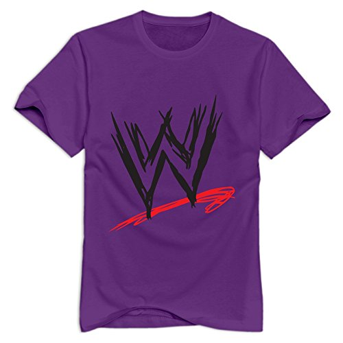 Tavil Wwe 100% Cotton T Shirts For Adult Purple Size XL (Tombstone Funny Quotes)