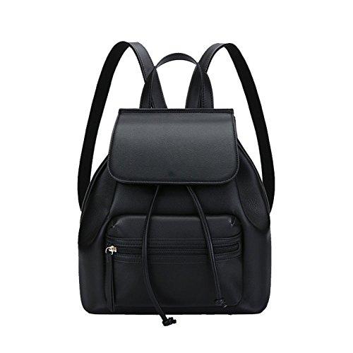 AJLBT Bolsas De Hombro Damas Tendencia Coreano Personalidad Moda Casual Simple Práctico Durable Black