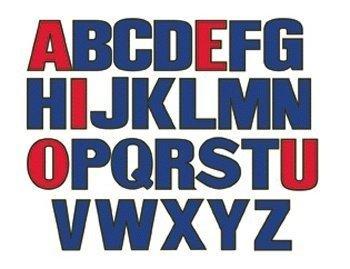 Upper Case Letters Alphabet Felt Figures For Flannel board