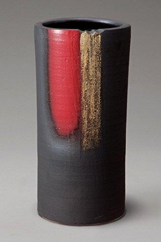 赤金彩傘立 信楽焼 陶器 傘立 B01N6L418Q
