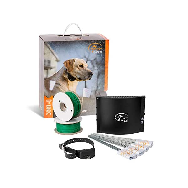 SportDOG-Brand-In-Ground-Fence-Systems--from-the-Parent-Company-of-INVISIBLE-FENCE-Brand-Underground-Wire-Electric-Fence-Tone-Vibration-Static-100-Acre-Capability-Remote-Trainer-Option