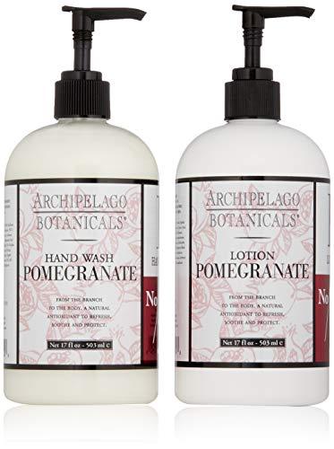 Archipelago Pomegranate Hand Wash & Lotion Set, 34 fl. oz.