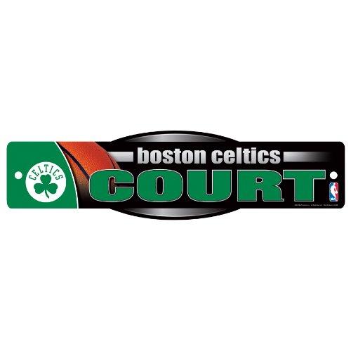 NBA Boston Celtics Sign, 4.5 x 17-Inch by WinCraft