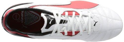 Puma Momentta SG - Botas de fútbol para hombre Blanco (Weiß (metallic white-high risk 04))