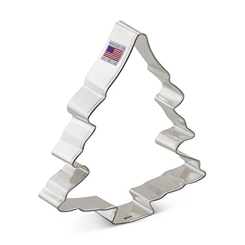 Ann Clark Tree Cookie Cutter - 5 Inches - Tin Plated Steel