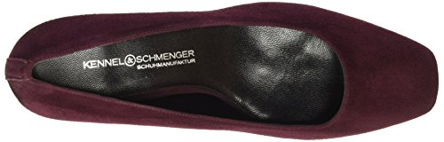 393 Schmenger bordo Kennel Rot Damen Schuhmanufaktur Pumps und Isabel Sxq5T6q8w