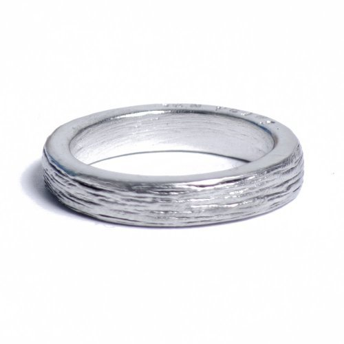 10th Wedding Anniversary Tin Ring - Ladies - Inscribed with Ten Years, Free Resize (5)