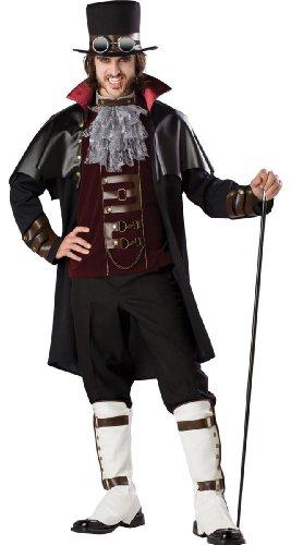 Steampunk Victorian Vampire Adult Costume Adult (Medium)